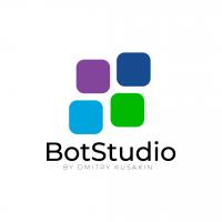 Логотип для студии по созданию чат-ботов