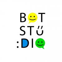 Логотип для студии по созданию чат-ботов (версия 2)