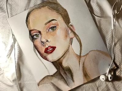 Создание эскизов, портретов, иллюстраций