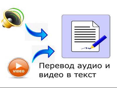 Переведу ваше аудио в текст, а также письменный текст в электронный.